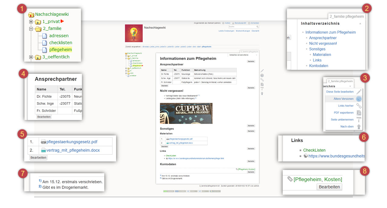 Persönliches Wiki aufbauen, Teil 2 – Digital Cleaning