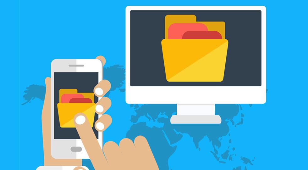 Zentraler Ordner für Dokumenten-Transfer – Digital Cleaning